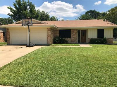 Ennis Single Family Home Active Option Contract: 2504 Linda Drive