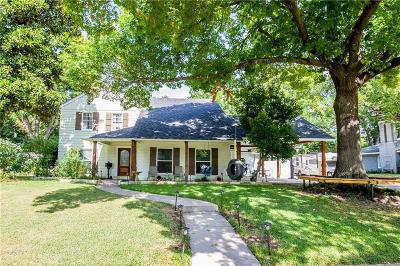 Waxahachie Single Family Home Active Contingent: 105 Harbin Avenue