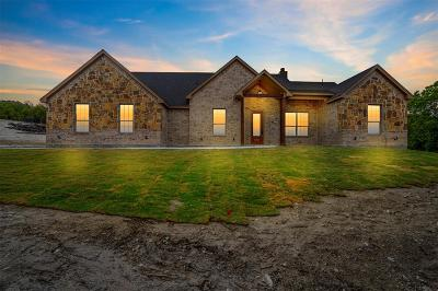 Weatherford Single Family Home For Sale: 166 Cedar Mountain Drive