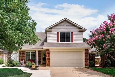 Grapevine Single Family Home For Sale: 1434 Mockingbird Drive
