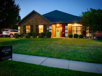 Burleson Single Family Home Active Contingent: 2939 Greenway Drive