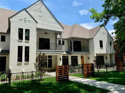 Fort Worth Townhouse For Sale: 509 Monticello Drive