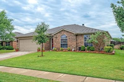 Krum Single Family Home Active Option Contract: 1617 Appaloosa Drive