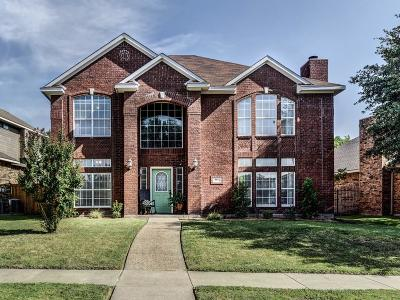 Rowlett Single Family Home Active Option Contract: 8813 Clearlake Drive
