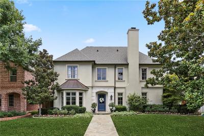 Allen, Dallas, Frisco, Plano, Prosper, Addison, Coppell, Highland Park, University Park, Southlake, Colleyville, Grapevine Single Family Home For Sale: 6817 Northwood Road