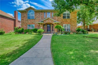 Wylie Single Family Home Active Option Contract: 218 Martin Drive