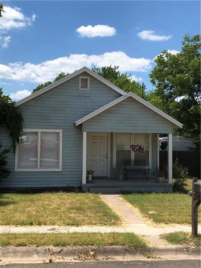 Archer County, Baylor County, Clay County, Jack County, Throckmorton County, Wichita County, Wise County Single Family Home Active Contingent: 203 N Lane Street