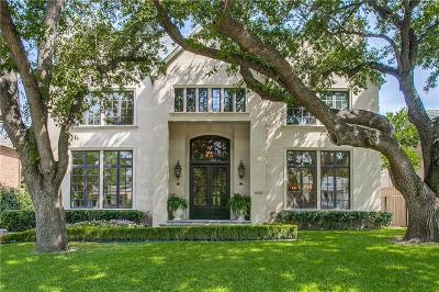 Highland Park Single Family Home Active Option Contract: 4430 Arcady Avenue
