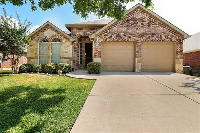 Denton County Single Family Home Active Option Contract: 2436 Deerwood Drive