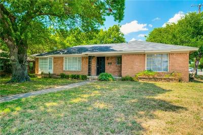 Single Family Home For Sale: 6839 Walnut Hill Lane