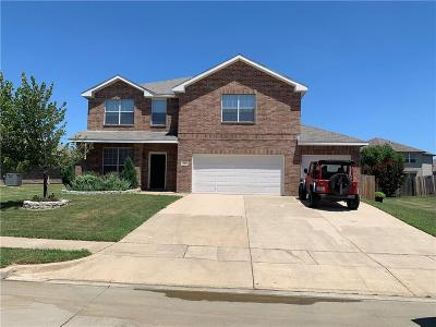 Krum Single Family Home For Sale: 334 Chisholm Trail