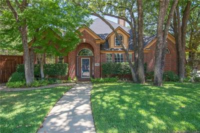 Lewisville Single Family Home Active Contingent: 1393 Oak Hill Circle