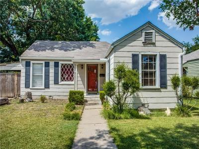 Arlington Heights Single Family Home For Sale: 3912 Calmont Avenue