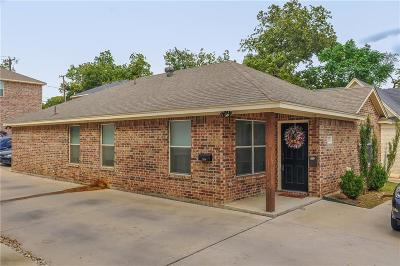Fort Worth Multi Family Home Active Option Contract: 2532 S University Drive