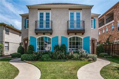 Dallas County Half Duplex For Sale: 4126 Hawthorne