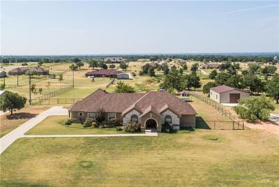 Archer County, Baylor County, Clay County, Jack County, Throckmorton County, Wichita County, Wise County Single Family Home For Sale: 1007 County Road 4371