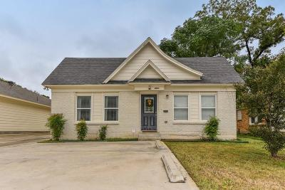 Fort Worth Multi Family Home Active Option Contract: 2528 S University Drive