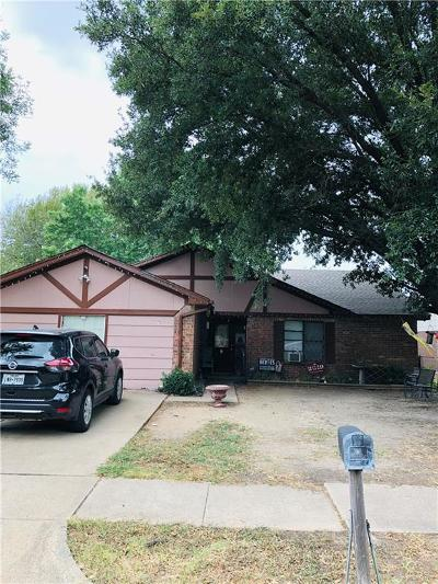 Mesquite Single Family Home For Sale: 1733 Windsor Drive