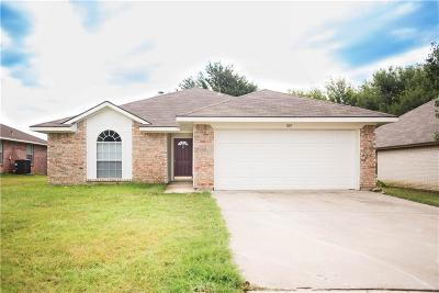 Archer County, Baylor County, Clay County, Jack County, Throckmorton County, Wichita County, Wise County Single Family Home For Sale: 109 Troxell Boulevard