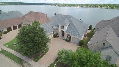 Parker County, Tarrant County, Hood County, Wise County Single Family Home For Sale: 2712 Harborside Drive