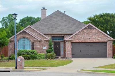 Rockwall Single Family Home Active Option Contract: 1432 Napa Drive