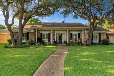 Richardson Single Family Home Active Option Contract: 1101 Edgewood Drive