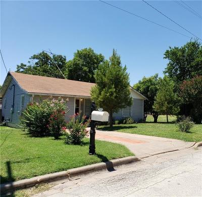 Mineral Wells Single Family Home For Sale: 713 9th Street