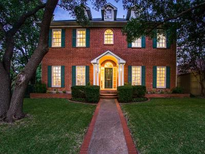 Dallas County Single Family Home For Sale: 6320 Club Lake Court