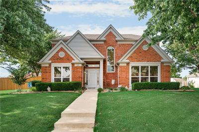Lewisville Single Family Home Active Contingent: 1327 Old Barn Lane