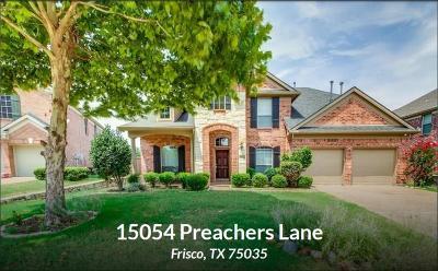 Frisco Single Family Home For Sale: 15054 Preachers Lane