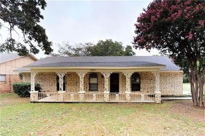 Flower Mound Single Family Home For Sale: 5121 Morriss Road