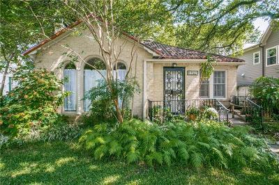 Dallas County Single Family Home For Sale: 6907 Pasadena Avenue