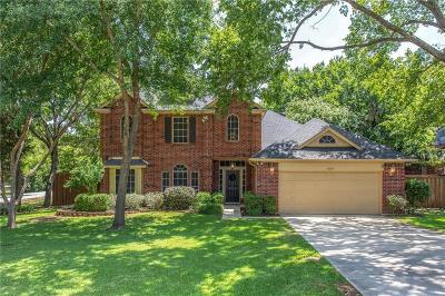 Flower Mound Single Family Home Active Option Contract: 4626 Pinon Street