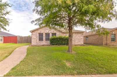 Balch Springs Single Family Home Active Option Contract: 14857 Ledgeview Court