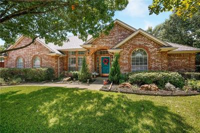Colleyville Single Family Home Active Option Contract: 6606 Baker Court