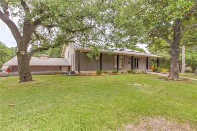 Fort Worth Single Family Home Active Option Contract: 5909 Monterrey Drive