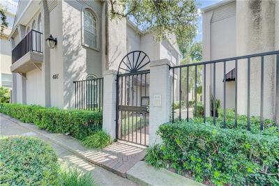 Dallas Condo For Sale: 4325 Bowser Avenue #105