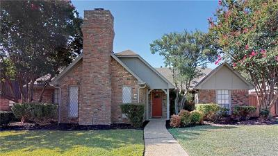 Richardson Single Family Home Active Option Contract: 1502 Summertree Court