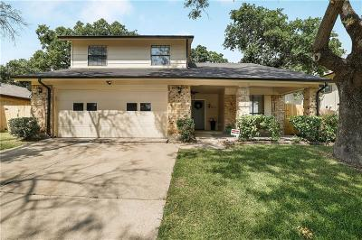 Bedford Single Family Home Active Option Contract: 3715 Pecan Circle