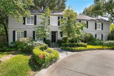 Preston Hollow Single Family Home For Sale: 4606 Walnut Hill Lane