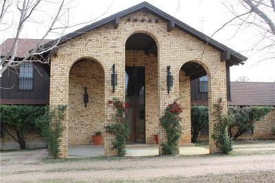 Hamilton TX Single Family Home For Sale: $390,000