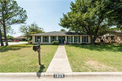 Denton Single Family Home For Sale: 1825 Georgetown Drive