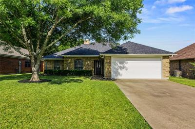 Rockwall Single Family Home Active Option Contract: 1029 N Fannin Street