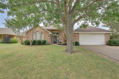 Waxahachie Single Family Home Active Option Contract: 111 Driftwood Lane