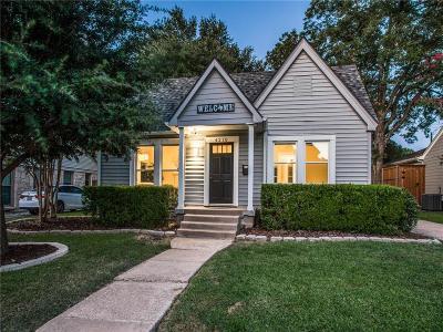 Single Family Home For Sale: 4210 Camden Avenue