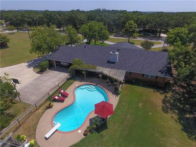 Weatherford Single Family Home For Sale: 1006 Greenwood Cut Off Road