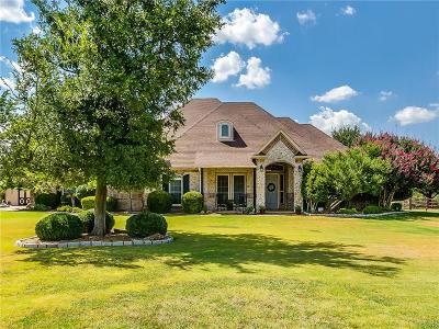 Aledo Single Family Home Active Contingent: 132 Rim Rock Road