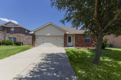 Royse City Single Family Home Active Option Contract: 720 Orchid Boulevard