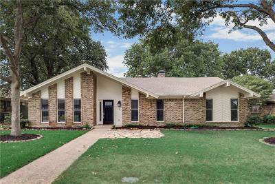 Richardson Single Family Home Active Option Contract: 1411 Potomac Drive