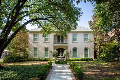 Fort Worth Single Family Home For Sale: 4901 Lafayette Avenue